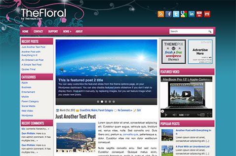 thefloral-wordpress-theme