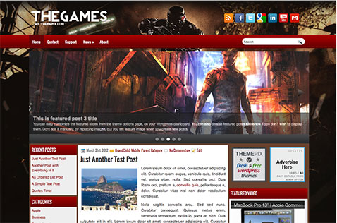 thegames-wordpress-theme