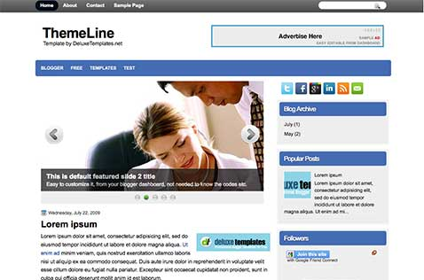 themeline-blogger-template