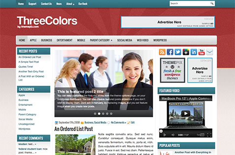 threecolors-wordpress-theme
