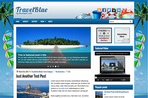 travelblue-wordpress-theme