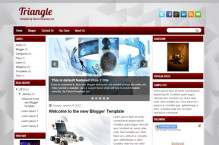 triangle-blogger-template