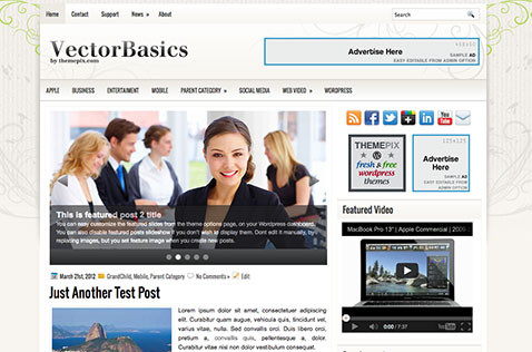 vectorbasics-wordpress-theme