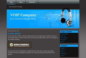 voip-company-blogger-templates
