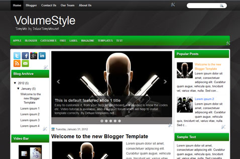 volumestyle-blogger-template