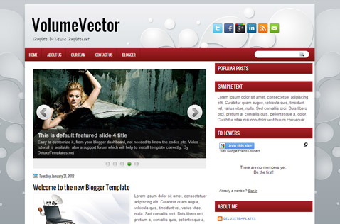 volumevector-blogger-template